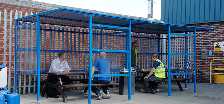 Smoking Shelters Product : Bike storage outdoor shelters smoking ngt