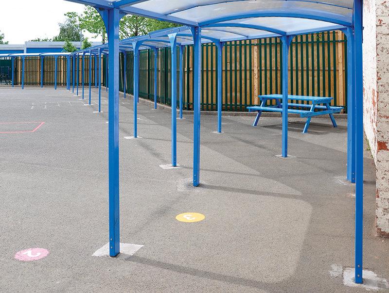 school classroom outdoor